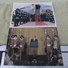 Lot of two Reagan Foundation prints, Air Force One, w/Beefeaters, G1907-057
