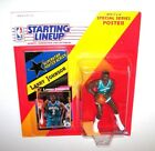 NBA Starting Lineup Special Series - Larry Johnson - 1992 - w/Poster