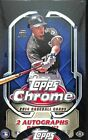 2014 Topps Chrome Baseball Factory Sealed Hobby Box