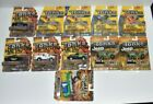 LOT Of 11 TONKA Diecast Police Planes Helicopter Jeep Ambulance Tow Truck