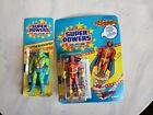 Super Powers Martian Manhunter Small Card  Red Tornado Unopened By Kenner