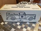Amoco 1940 Ford Panel Van Bank with Key Brand New