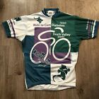 Kucharik Clothing Ride To Cure Diabetes 2001 Vintage Cycling Jersey Made In USA
