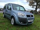 Fiat doblo wheelchair mobility car disabled