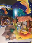 Playmobil 3996 Nativity Set plus 3997 Complete With Original Box And Book