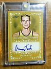 2019 leaf Industry Summit Lakers Jerry West Gold Auto Card 1 1