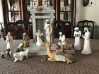 Willow Tree Nativity Set 14 pieces Hand Sculpted  Painted