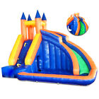 Summer Summit Splash Park Inflatable Water Slides with Cannon and Slides