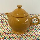 Fiestaware Marigold Teapot Fiesta Large 44 oz Retired Teapot with Lid