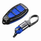 Carbon Fiber Remote Key Cover Case Fit For Ford Focus Fiesta Kuga C-max Galaxy