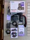 Canon EOS 450D DSLR camera kit with 18-55mm lens