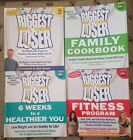 4 BIGGEST LOSER Books Family Cookbook Fitness Program 6 Weeks to Healthier You