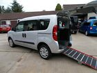 WHEELCHAIR ACCESSIBLE WAV DISABLED MOBILITY FIAT DOBLO REAR RAMP 4 SEATS +WCHAIR