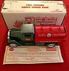 VINTAGE ERTL DIE-CAST BANK 1931 STERLING AMOCO RED CROWN GAS TANKER MODEL GB-409