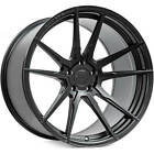 4 19 Rohana Wheels RFX2 Matte Black Rims B4