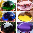 40 200mm Round Glass Crystal ball Sphere Buyers select the size