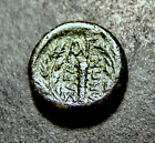 Ancient Greek Coin Hercules Battle Club  Mythical Apollo Old Turkey ca 133 BC