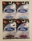 Hot Wheels 100 Ford Series Complete Set Limited Edition Packaging Error