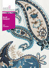 Blue Paisley Anita Goodesign Embroidery Design Machine CD