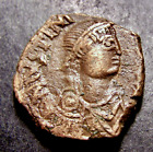 JUSTINIAN I Christian Cross Constantinople 6th Cent Byzantine Emperor Coin