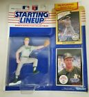1990 STARTING LINEUP FIGURE with 2 CARDS MARK McGWIRE OAKLAND