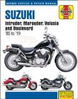 SUZUKI SHOP SERVICE REPAIR MANUAL INTRUDER MARAUDER VOLUSIA BOULEVARD HAYNE BOOK