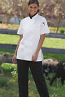 Womens Chef Coat Short Sleeve 0478 Sizes Xs To 3xl White