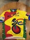 Vintage VOLER RAGBRAI XXIX Mirco Matrix 3 4 Zip Bike Cycling Jersey 3xl