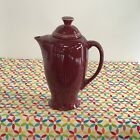Fiestaware Cinnabar Coffee Server Fiesta Retired Serving Pitcher
