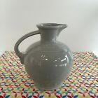 Fiestaware Pearl Gray Carafe Fiesta Grey Retired 60 oz Water Jug Pitcher