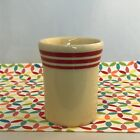 Fiestaware Retro Red Stripe Tumbler Fiesta Small Ivory HLCCA 6.5 oz Cup