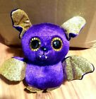 TY Beanie Count Bat Cute collectible new approx  6 inches tall