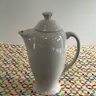 Fiestaware White Coffee Server Fiesta Retired Serving Pitcher