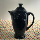 Fiestaware Cobalt Coffee Server Fiesta Dark Blue Retired Serving Pitcher