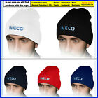 IVECO Beanie Hat Embroidered Truck Logo Winter Warm Knit Mens Accessories Lorry