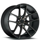 4 20 Niche Wheels M130 Targa Black Machined Rims B2