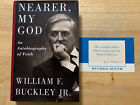 William F Buckley Jr Nearer My God An Autobiography of Faith w Signed