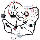 250cc Full Set Electric Wiring Harness Loom Switch Coil CDI Magneto For ATV Quad