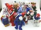 Ty Beanie Baby Lot of 8 Free-First Dog-Eagle-Lefty-Founders-Patriot-Hero