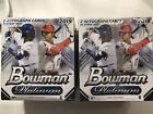 2019 Bowman Platinum Baseball Box Lot Of 2 - 2 Autographs In Each - Pete Alonso?