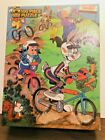 LOONEY TUNES PUZZLE ~ BUGS BUNNY DIRT BIKE DERBY ~100 PC JIGSAW~ GOLDEN 1984