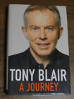 A Journey by Tony Blair Hardback 2010 AUTOGRAPHED 1st Ed