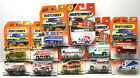 12pc 1990s Matchbox Diecast Vehicles Fire Engines+Rescue Truck+Ambulance Lot NOC