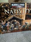 KIRKLAND SIGNATURE CHRISTMAS NATIVITY W CRYSTAL ACCENTS 18 PIECE SET