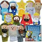 The Nativity Finger Puppet Set 12 Pack Includes Storybook Birth Of Jesu