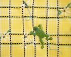 2X 20W YELLOW ALFRED DUNNER GREEN EMBROIDERED FROG FLORAL SS SHIRT BLOUSE WOMEN