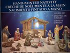 Kirkland Signature Hand Painted Nativity Set 13 Pieces Christmas Decoration NEW