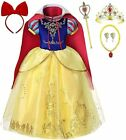 Romys Collection Princess Snow White Costume Party Dress up Set