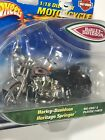 New Hot Wheels Harley-Davidson 1:18 Die Cast Heritage Springer Motorcycle DS