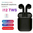 i12 TWS Bluetooth 50 Earphone Wireless Headphone Earbuds For iPhone Android USA